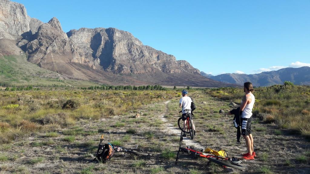 mountain biking South Africa