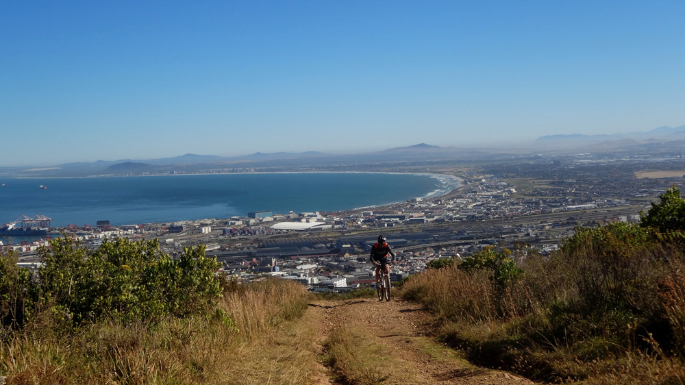 Table Mountain Cycle Tour Image