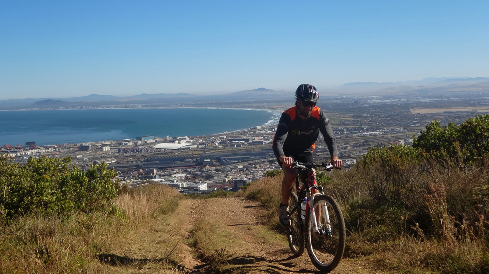 Mountain biking Cape Point cycle Tour Image